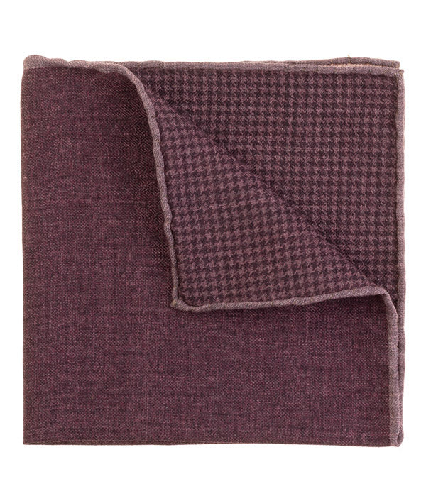 Wine Pink Pocket Square