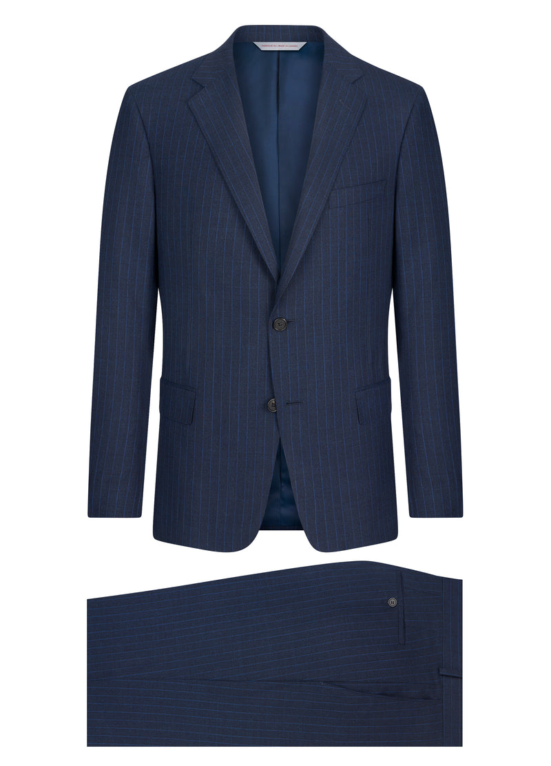 Blue Stripe Suit