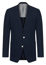 Canadian made Classic Contemporary Poplin Blazer from Samuelsohn