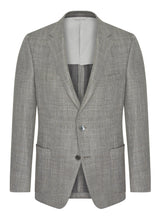 Canadian made Silver Grey Summertime Jacket from Samuelsohn