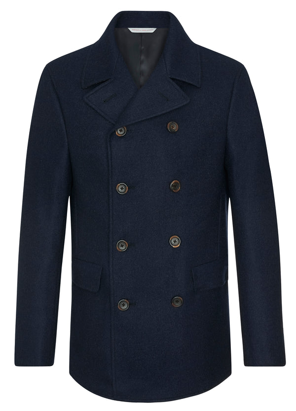 Canadian made Navy Peacoat from Samuelsohn