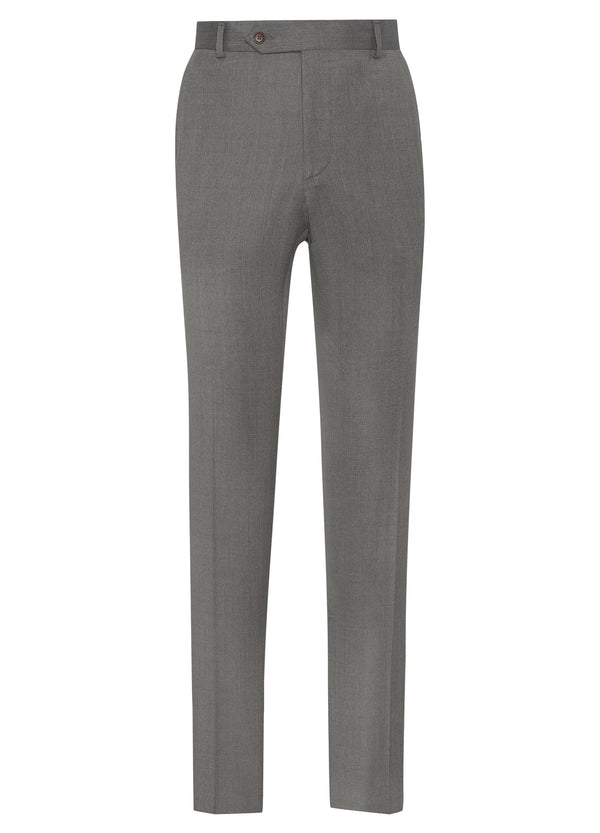 Super 110s Twill Trousers – Oatmeal