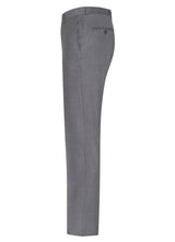 Grey Flat Front Trousers