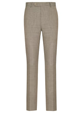 Canadian made Taupe Summertime  Slim Fit Trousers from Samuelsohn