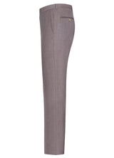 Dusty Rose Flat Front Trousers