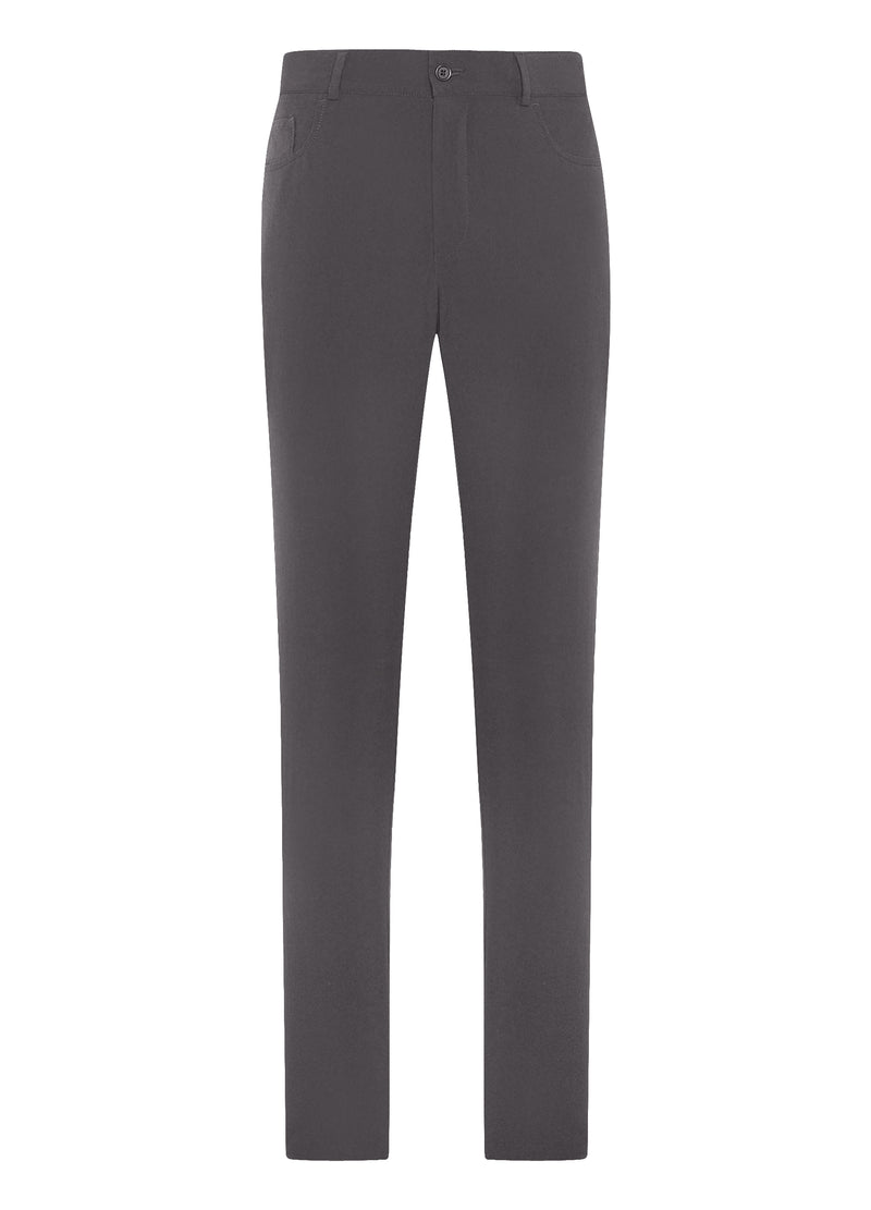 "Charcoal ""Elite-Tech"" 5-Pocket Pants"