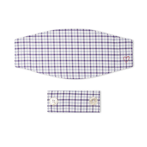 Purple Window Pane Mask