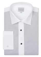 Canadian made Pique Bib Formal Shirt from Samuelsohn