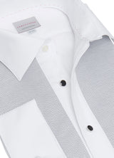Pique Bib Formal Shirt