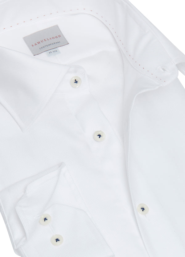 White Royal Twill Shirt