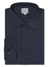 Canadian made Royal Reda Active Hidden Button-down Shirt from Samuelsohn