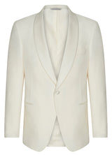 Canadian made Ivory Shawl Collar Dinner Jacket from Samuelsohn