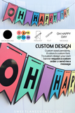 oh happy day colorful banner