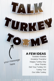 Thanksgiving fall banner ideas
