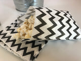 Popcorn Bar Mini | Black Chevron | Movie Night