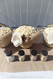 popcorn jars baskets custom
