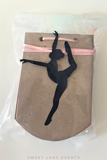 Dancer Banner | Custom Colors & Font | Personalized Message