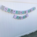 happy birthday grace custom banner