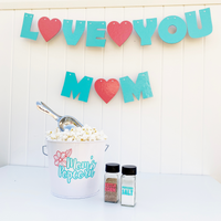 mothers day popcorn party in a box