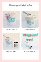 mothers day popcorn party in a box options