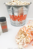 pumpkin spice popcorn bar