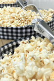 stainless steel personalized engraved popcorn scoop