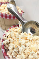 popcorn wedding scoop