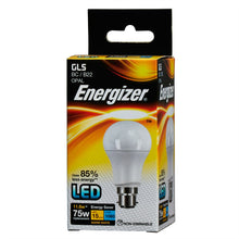 Load image into Gallery viewer, Energizer 12W (100W) LED BC B22 Standard Shape Bulb GLS