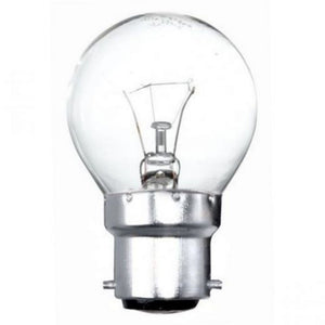 Polaris 40W Golf Light Bulb BC B22 240v - Clear