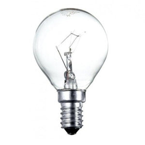 Polaris 40W Golf Light Bulb SES E14 240v - Clear
