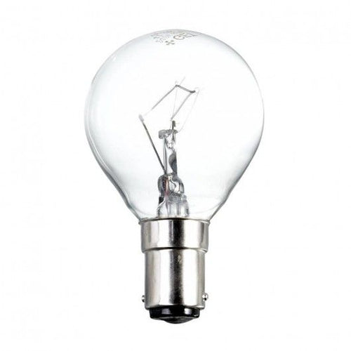 Polaris 40W Golf Light Bulb SBC B15 240v - Clear