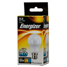 Load image into Gallery viewer, Energizer 9W (60W) LED Standard Shape Bulb GLS BC B22
