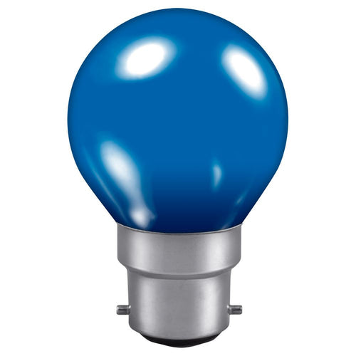 Golf Ball light bulb Blue BC cap