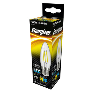 Energizer 4W (40W) LED Candle Filament ES E27