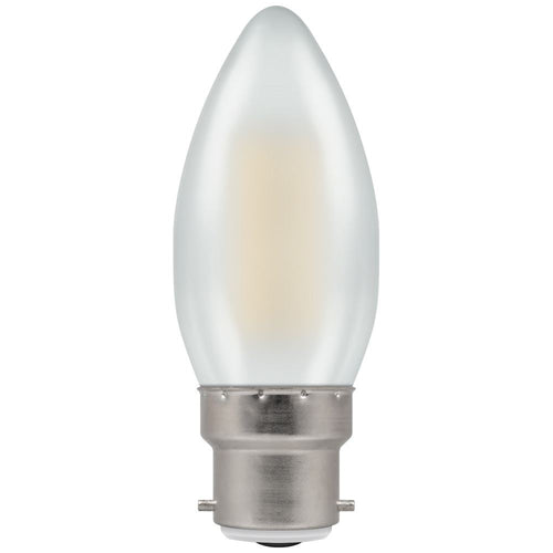 LED candle filament pearl BC