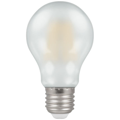 Crompton 8W (60W) LED GLS  Filament Pearl ES E27 - Dimmable