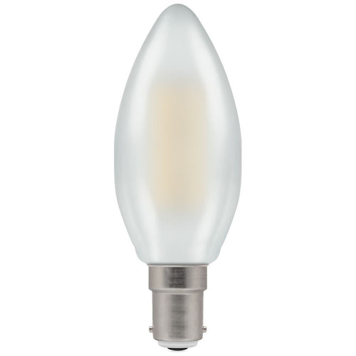 LED candle filament pearl SBC
