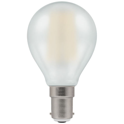 LED golf ball light bulb filament pearl SBC