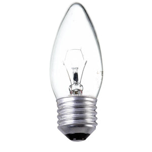 Traditional Incandescent 60w Candle Light Bulb E27 ES