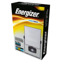Load image into Gallery viewer, Energizer 30W LED Floodlight PIR Sensor - 6500k Daylight