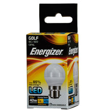 Load image into Gallery viewer, Energizer 6W (40W) LED Golf BC B22 Bulb