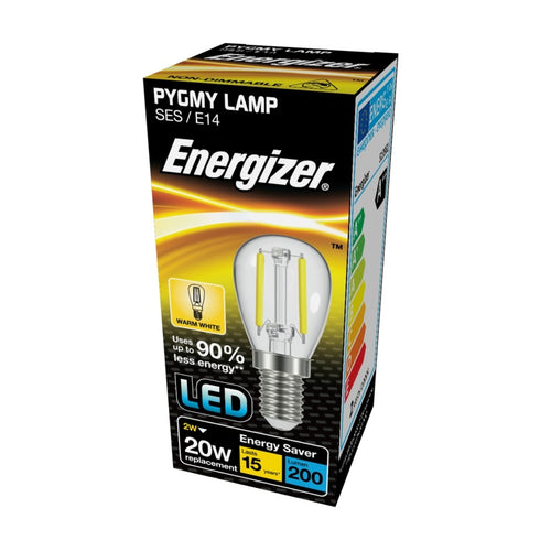Energizer LED Filament PYGMY 2 watt = 20 watt