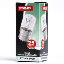 Load image into Gallery viewer, Eveready 25W PYGMY BC B22 Light Bulb