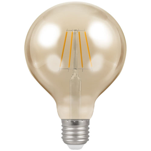 crompton g95 led filament ES antique gold