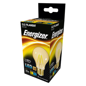 Energizer 4w (30W) LED Filament GLS Antique ES E27