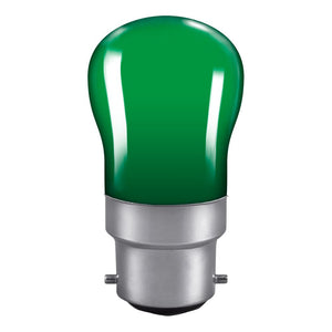Crompton 15W Green PYGMY BC B22 Light Bulb