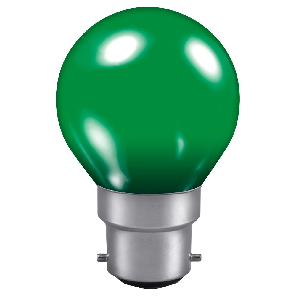 Golf Ball light bulb Green BC cap