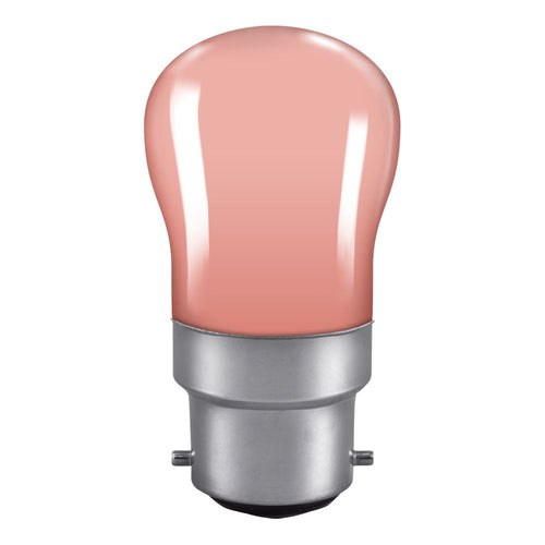 PYGMY light bulb Pink BC cap