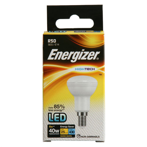 Energizer 6W (40W) LED R50 Reflector SES E14 - Warm White