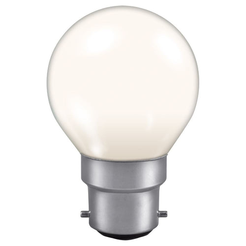 Golf Ball light bulb White BC cap